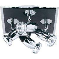 Adjustable ceiling spotlight Latisa  4 bulb
