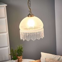 Victoriana hanging light with one bulb