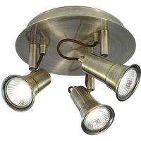 Round EROS ceiling spotlight  3 light