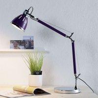 Violet desk lamp Jerona