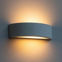Rounded Proof wall lamp made of concrete