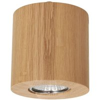 Wooddream ceiling lamp 1 bulb oak  round  10 cm