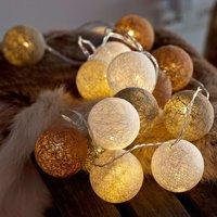 20 bulb LED string lights Bolette  nordic nature