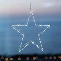 Festive  decorative LED star Liva Star  white  30
