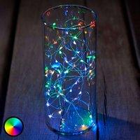 Knirke multi LED string lights  RGB  40 bulb