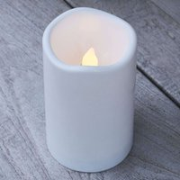 Storm LED candle for outdoors  height 12 5 cm