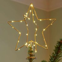 Christmas Top LED decorative light  gold