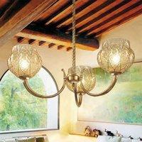 Imposing chandelier FLORA