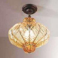 Murano glass ceiling light SULTANO  42 cm