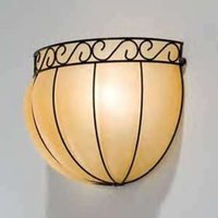 Semi circular CORONA wall light  34 cm