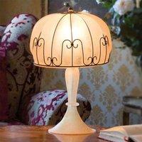 Handmade MEDUSA table lamp  amber