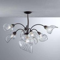 Chiocciola   a seven bulb hanging light