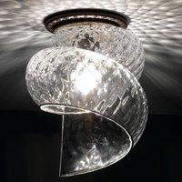 Chiocciola   an effective ceiling lamp