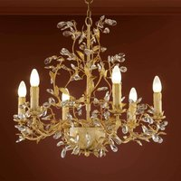 Floral chandelier VERDI