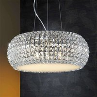 Sparkling  round hanging light DIAMOND