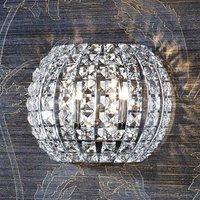 Crystal LED wall light DIAMOND