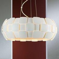 Contemporary hanging light Quios in white