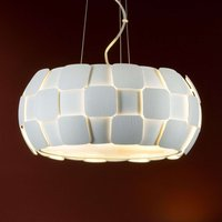 White hanging light Quios with a great lampshade