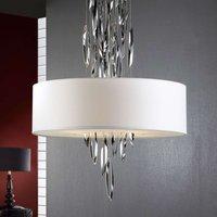 Elegant hanging light Domo with chrome elements
