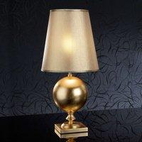 60 cm tall  golden table lamp Terra