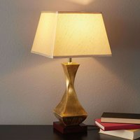 Striking table lamp Deco with gold base