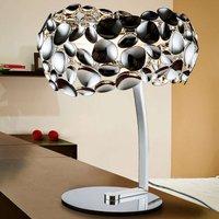 Narisa LED table lamp  chrome