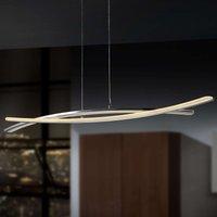 Linur   LED hanging light in a flat design