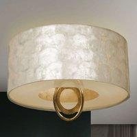 Elegantly shimmering Ed n LED ceiling light
