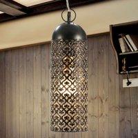 Jamila   LED pendant light made of die cut metal