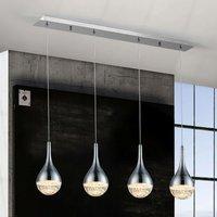 Elie LED hanging light  4 bulb