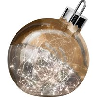 Ornament decorative light  copper  20 cm diameter