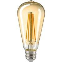 LED bulb E27 ST64 4 5 W filament rustic gold
