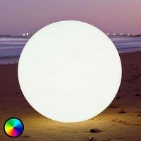 Globe   buoyant LED decorative lamp