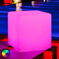 Cube   a luminous cube for outdoors