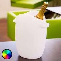 Fresh   a luminous LED bottle cooler