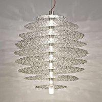 Silver plated Tresor hanging light