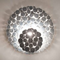 Expressive Tresor wall light silver