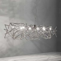Etoile   interwoven hanging light  8 bulb