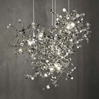 Incomparable Argent hanging light 76 cm