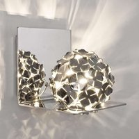 Ortenzia wall light with floral design