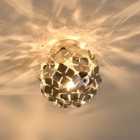 Ortenzia ceiling light with floral design