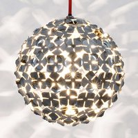 Terzani Ortenzia hanging light with floral design