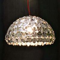 Terzani Ortenzia   semi circular hanging light