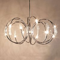 Spiral shaped Hook hanging light