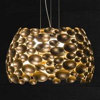 Gold plated Anish LED pendant light   44 cm