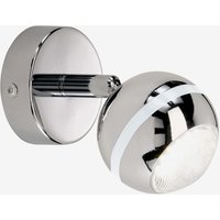 Wall light Groove with LED  chrome