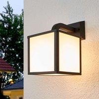 Cubango   a modern LED outdoor wall light