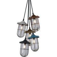 Birte   stylish pendant light  5 bulb