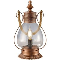 Copper Linda table lamp with notes of antique