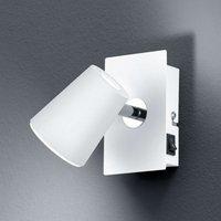 White LED wall spotlight Narcos w  pivotable head